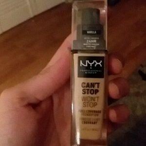 Nyx - vanilla foundation